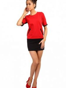 Tunika MOE004 Red-Black