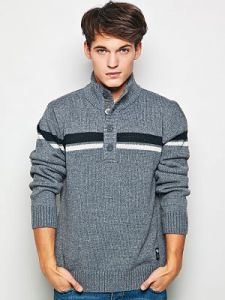 Sweter Męski Model J-09-012 GREY