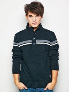 Sweter Męski Model J-09-012 NAVY