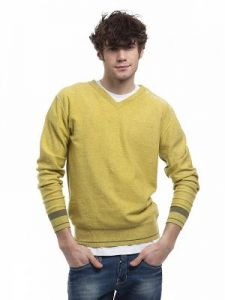 Sweter Męski Model H-09-004 YELLOW
