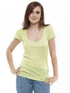 T-shirt Damski Model WL08-37-067 YELLOW