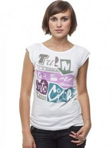 T-shirt Damski Model G-37-005 WHITE